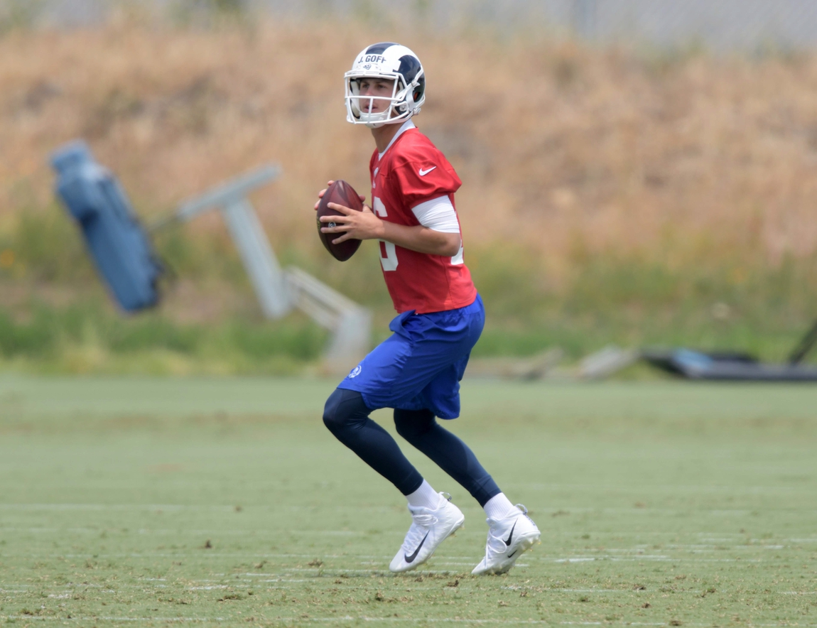 Rams looking to cash in before Jared Goff s new contract  84fb2bf55