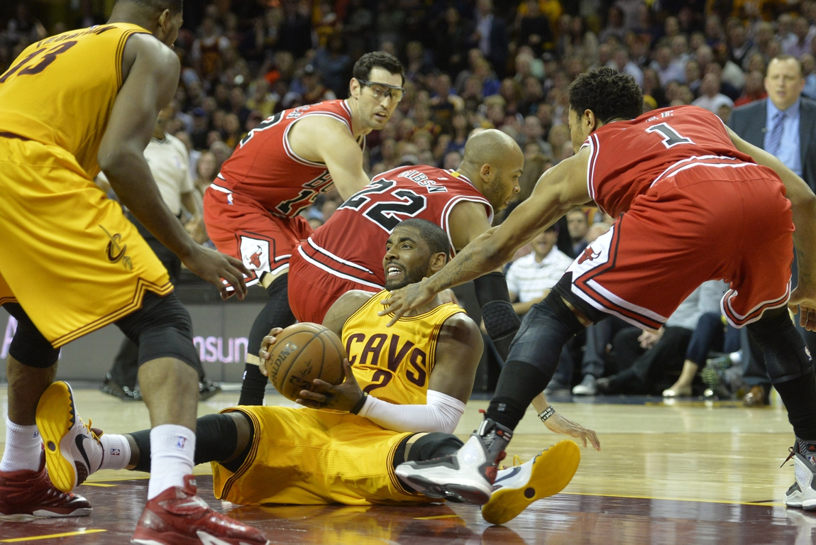 6e4fe3688839 Kyrie Irving out for Game 2 with knee injury