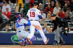 Atlanta Braves vs. New York Mets - 4/10/14