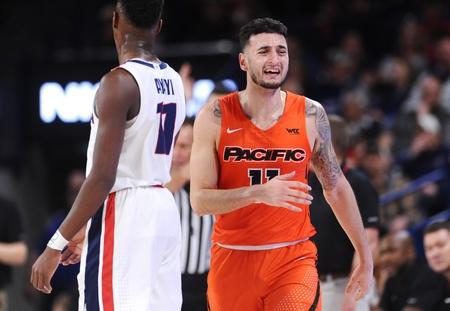 Pacific vs. Santa Clara - 2/22/20 College Basketball Pick, Odds, and Prediction