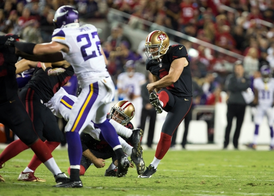 Cheap NFL Jerseys NFL - Minnesota Vikings at San Francisco 49ers
