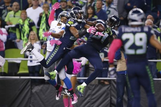 Nike NFL Jerseys - Detroit Lions at Seattle Seahawks