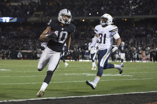 San Diego Chargers at Oakland Raiders