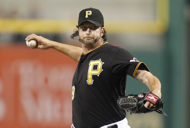 Jun 29, 2013; Pittsburgh, PA, USA; Pittsburgh Pirates relief pitcher Jason Grilli (39) pitches against the Milwaukee Brewers during the ninth inning at PNC Park. The Pittsburgh Pirates won 2-1. Mandatory Credit: Charles LeClaire-USA TODAY Sports