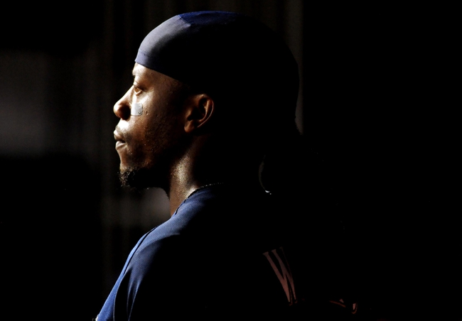 Jul 1, 2013; Washington, DC, USA; Milwaukee Brewers second baseman Rickie Weeks (23) looks on during the game against the Washington Nationals at Nationals Park. Mandatory Credit: Evan Habeeb-USA TODAY Sports
