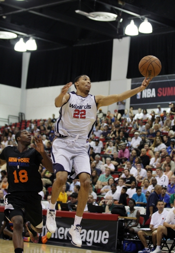 Jul 14, 2013; Las Vegas, NV, USA; Washington Wizards forward Otto Porter (22)