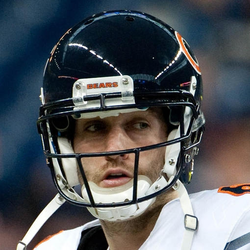 Dec 30, 2012; Detroit, MI, USA; Chicago Bears quarterback Jay Cutler (6) before the game against the Detroit Lions at Ford Field. Mandatory Credit: Tim Fuller-USA TODAY Sports