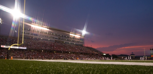 Aug 31, 2013; Troy, AL, USA;  A general view of Veterans Memorial Stadium during the game between Uab Balzers and troy Trojans. Mandatory Credit: Marvin Gentry-USA TODAY Sports
