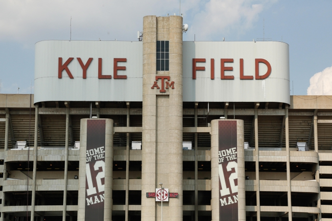 Aug 31, 2013; College Station, TX, USA; A general view of Kyle Field after the game between the Texas A&M Aggies and the Rice Owls. Texas A&M won 52-31. Mandatory Credit: Thomas Campbell-USA TODAY Sports
