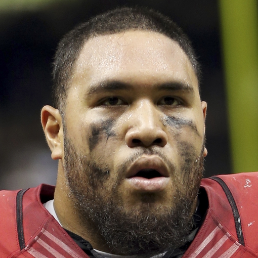 Sep 22, 2013; New Orleans, LA, USA; Arizona Cardinals defensive tackle Alameda Ta'amu (66) walks off the field at the conclusion of their game against the New Orleans Saints at Mercedes-Benz Superdome. Mandatory Credit: Chuck Cook-USA TODAY Sports