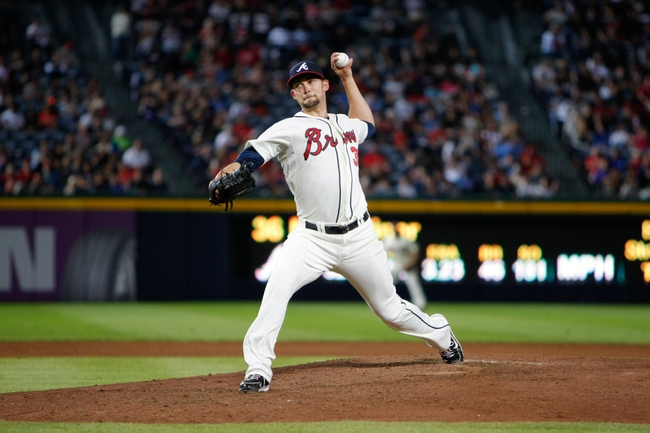 Sep 28, 2013; Atlanta, GA, USA; Atlanta Braves starting pitcher Mike Minor (36) throws a pitch against the Philadelphia Phillies in the sixth inning at Turner Field. Mandatory Credit: Brett Davis-USA TODAY Sports