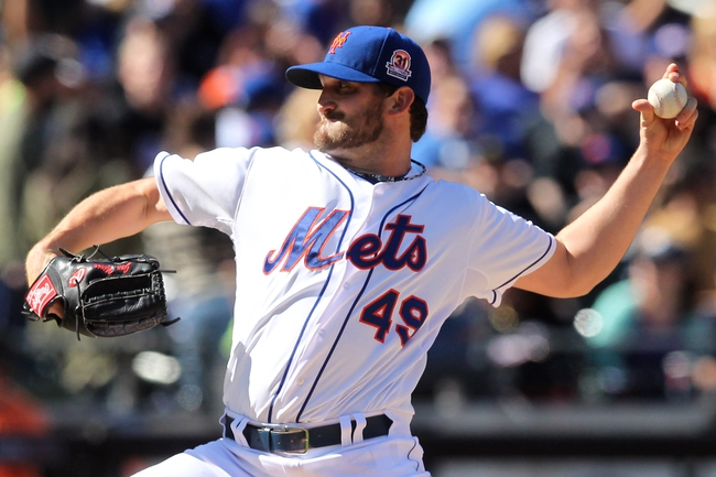Sep 29, 2013; New York, NY, USA; New York Mets starting pitcher Jonathon Niese (49) pitches against the Milwaukee Brewers during the first inning of a game at Citi Field. Mandatory Credit: Brad Penner-USA TODAY Sports