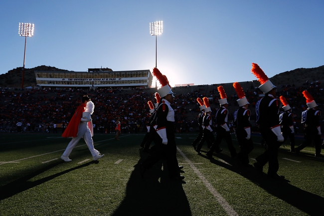Oct 5, 2013; El Paso, TX, USA; The UTEP marching band preforms before the Miners face the Louisiana Tech Bulldogs at Sun Bowl Stadium. Mandatory Credit: Ivan Pierre Aguirre-USA TODAY Sports