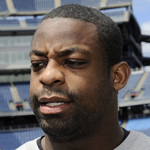 May 3, 2013; Foxboro, MA USA; New England Patriots rookie Steve Beauharnais speaks to the media during rookie minicamp at Gillette Stadium. Mandatory Credit: Bob DeChiara-USA TODAY Sports