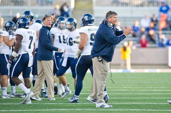 Oct 5, 2013; Tulsa, OK, USA; Rice Owls head coach David Bailiff reacts to a play during a game against the Tulsa Hurricanes at Skelly Field at H.A. Chapman Stadium. Rice defeated Tulsa 30-27 in an overtime. Mandatory Credit: Beth Hall-USA TODAY Sports