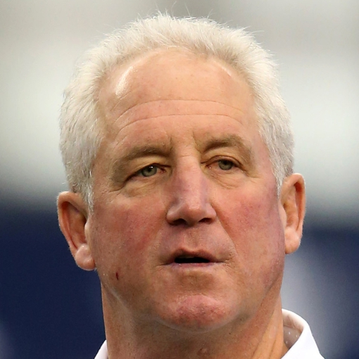 Oct 6, 2013; Arlington, TX, USA; Denver Broncos head coach John Fox on the field prior to the game against the Dallas Cowboys at AT&T Stadium. Mandatory Credit: Matthew Emmons-USA TODAY Sports
