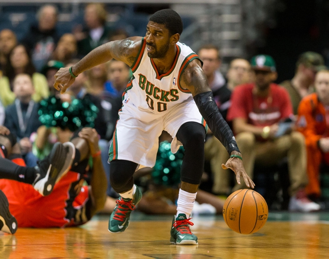Oct 25, 2013; Milwaukee, WI, USA;  Milwaukee Bucks guard O.J. Mayo (00) during the