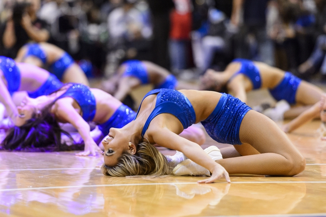 Nov 4, 2013; Philadelphia, PA, USA; Philadelphia 76ers dream team dancers perform during the third quarter against the Golden State Warriors at Wells Fargo Center. The Warriors defeated the Sixers 110-90. Mandatory Credit: Howard Smith-USA TODAY Sports