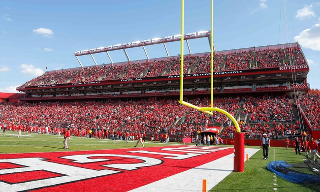 Nov 2, 2013; Piscataway, NJ, USA;  General view of High Points Solutions Stadium during the second half of game between the Rutgers Scarlet Knights and the Temple Owls. Rutgers Scarlet Knights defeat the Temple Owls 23-20. Mandatory Credit: Jim O'Connor-USA TODAY Sports