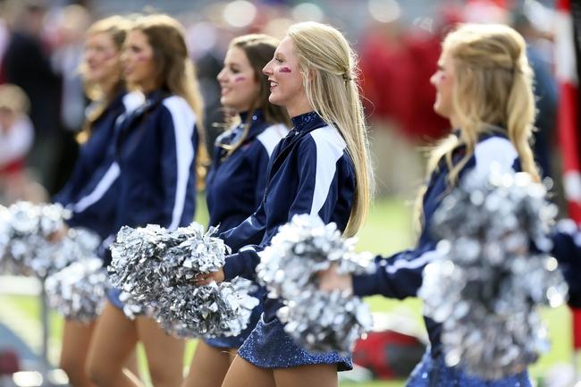 Nov 9, 2013; Oxford, MS, USA; Mississippi Rebels dance team during the game against the Arkansas Razorbacks at Vaught-Hemingway Stadium. Mississippi Rebels defeat the Arkansas Razorbacks with a score of 34-24.  Mandatory Credit: Spruce Derden-USA TODAY Sports