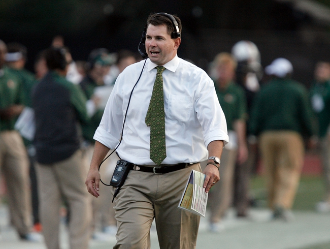 Nov 16, 2013; Durham, NC, USA; Miami Hurricanes head coach Al Golden on the sidelines during their game against the Duke Blue Devils at Wallace Wade Stadium. Mandatory Credit: Mark Dolejs-USA TODAY Sports