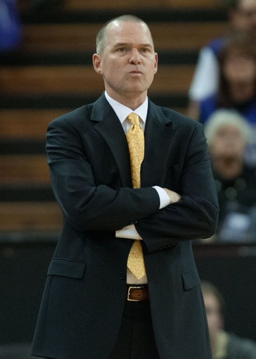 Nov 17, 2013; Sacramento, CA, USA; Sacramento Kings head coach Michael Malone looks on during the fourth quarter of the game against the Memphis Grizzlie