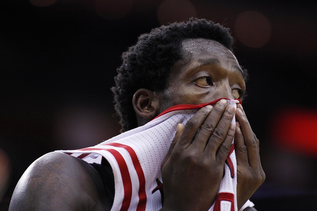 Nov 23, 2013; Houston, TX, USA; Houston Rockets point guard Patrick Beverley (2) during the third quarter against the Minnesota Timberwolves at Toyota Center. Mandatory Credit: Andrew Richardson-USA TODAY Sports