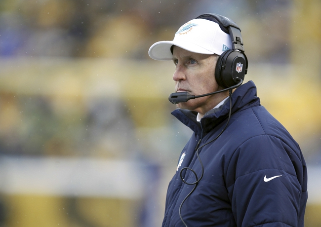 Dec 8, 2013; Pittsburgh, PA, USA; Miami Dolphins head coach Joe Philbin looks on from the sidelines against the Pittsburgh Steelers during the fourth quarter at Heinz Field. The Miami Dolphins won 34-28. Mandatory Credit: Charles LeClaire-USA TODAY Sports