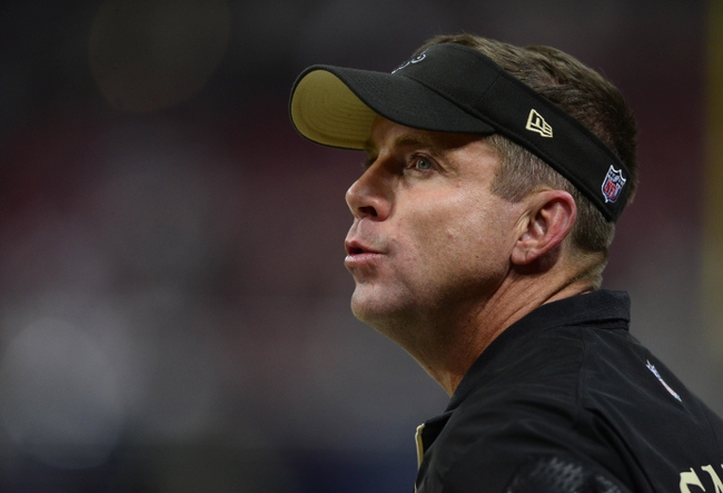 Dec 15, 2013; St. Louis, MO, USA; New Orleans Saints head coach Sean Payton looks on as his team plays the St. Louis Rams during the second half at the Edward Jones Dome. The Rams defeated the Saints 27-16. Mandatory Credit: Jeff Curry-USA TODAY Sports