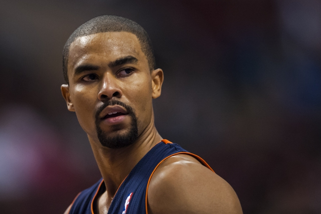 Jan 15, 2014; Philadelphia, PA, USA; Charlotte Bobcats guard Ramon Sessions (7) during the fourth quarter against the Philadelphia 76ers at the Wells Fargo Center. The Sixers defeated the Bobcats 95-92. Mandatory Credit: Howard Smith-USA TODAY Sports