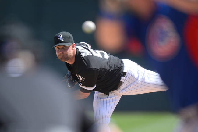 Mar 21, 2014; Phoenix, AZ, USA; Chicago White Sox starting pitcher John Danks (50) pitches against the Chicago Cubs at Camelback Ranch. The Cubs won 7-0. Mandatory Credit: Joe Camporeale-USA TODAY Sports