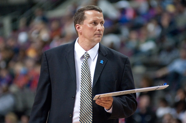 Mar 31, 2014; Auburn Hills, MI, USA; Detroit Pistons head coach John Loyer looks on during the second quarter against the Milwaukee Bucks at The Palace of Auburn Hills. Mandatory Credit: Tim Fuller-USA TODAY Sports