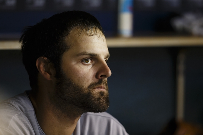 Apr 21, 2014; Detroit, MI, USA; Chicago White Sox starting pitcher John Danks (50) sits in dugout during the sixth inning against the Detroit Tigers at Comerica Park. Mandatory Credit: Rick Osentoski-USA TODAY Sports