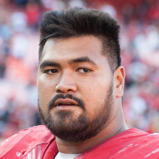 Oct 13, 2013; San Francisco, CA, USA; San Francisco 49ers guard Mike Iupati (77) looks on after the game against the Arizona Cardinals at Candlestick Park. Mandatory Credit: Ed Szczepanski-USA TODAY Sports