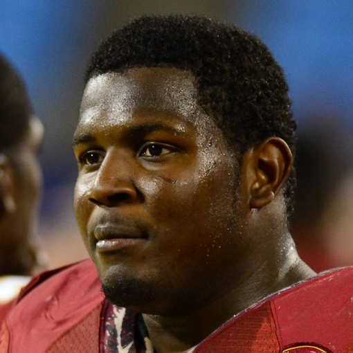 Dec 1, 2012; Charlotte, NC, USA; Florida State Seminoles defensive end Mario Edwards Jr. (15) on the sidelines. The Florida State Seminoles defeated the Georgia Tech Yellow Jackets 21-15 to win the ACC Championship at Bank of America Stadium. Mandatory Credit: Bob Donnan-USA TODAY Sports