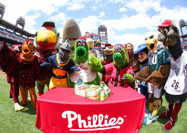 Philly Phanatic Friends Usa The Philly Phanatic