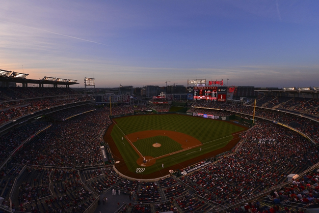 May 30, 2014; Washington, DC, USA; A general view of the stadium during the fourth inning of the game between the Texas Rangers and against the Washington Nationals at Nationals Park. Mandatory Credit: Tommy Gilligan-USA TODAY Sports