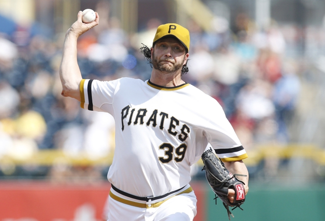 Jun 8, 2014; Pittsburgh, PA, USA; Pittsburgh Pirates relief pitcher Jason Grilli (39) pitches against the Milwaukee Brewers during the ninth inning at PNC Park. The Brewers won 1-0. Mandatory Credit: Charles LeClaire-USA TODAY Sports