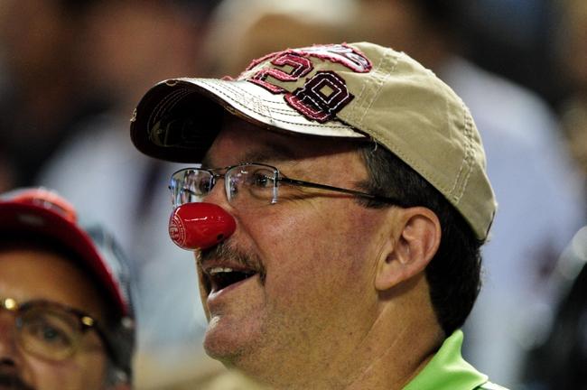 Jun 24, 2014; Phoenix, AZ, USA; A fan looks on during the game between the Arizona Diamondbacks and the Cleveland Indians at Chase Field. Mandatory Credit: Matt Kartozian-USA TODAY Sports
