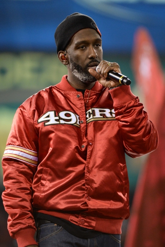 December 23, 2013; San Francisco, CA, USA; Musical group Boyz II Men member Shawn Stockman performs after the final regular season game at Candlestick Park between the San Francisco 49ers and the Atlanta Falcons. The 49ers defeated the Falcons 34-24. Mandatory Credit: Kyle Terada-USA TODAY Sports
