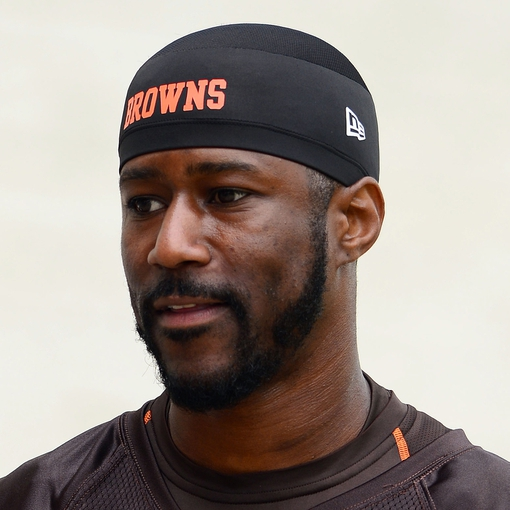 Jun 12, 2014; Berea, OH, USA; Cleveland Browns wide receiver Nate Burleson (13) during minicamp at Browns training facility. Mandatory Credit: Andrew Weber-USA TODAY Sports
