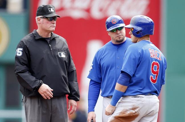 Cubs First Base Coach Eric