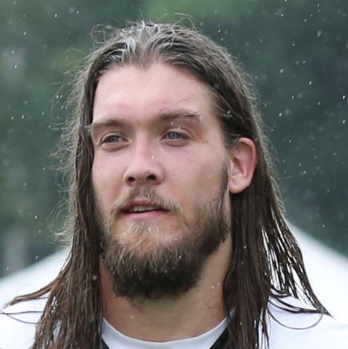 Jul 26, 2014; Philadelphia, PA, USA; Philadelphia Eagles linebacker Bryan Braman (56) walks off the field after practice at training camp at the Novacare Complex in Philadelphia PA. Mandatory Credit: Bill Streicher-USA TODAY Sports