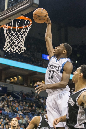 Andrew Wiggins Wolves Dunk 19244 | SOFTHOUSE