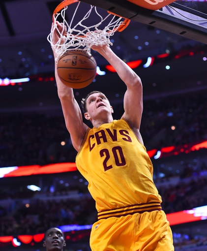 Noah Dunks on Mozgov Mozgov 20 Dunks The Ball
