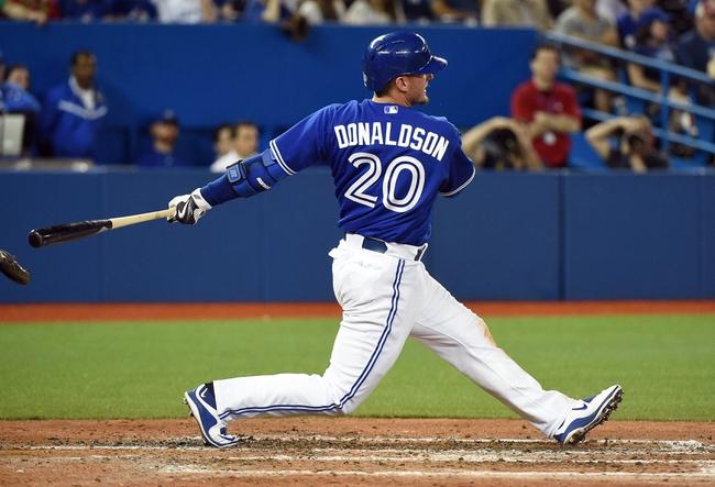 Mlb Baseball Blue Jays Josh Donaldson