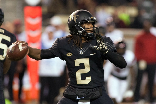 Wake Forest QB Kendall Hinton height measures up