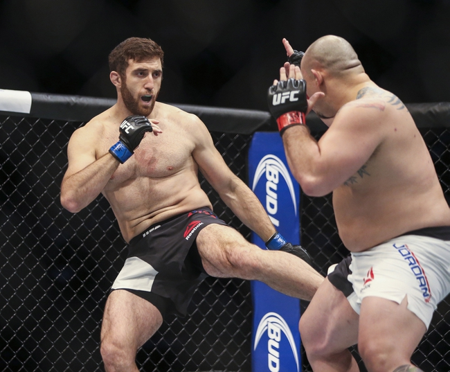 Ruslan Magomedov venceu Shawn Jordan (Foto: Troy Taormina/USA TODAY Sports)