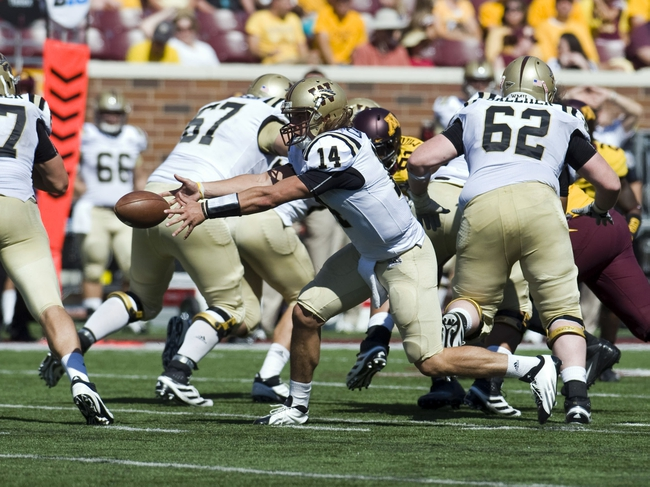 Western Michigan Broncos vs. Purdue Boilermakers Pick-Odds-Prediction - 8/30/14