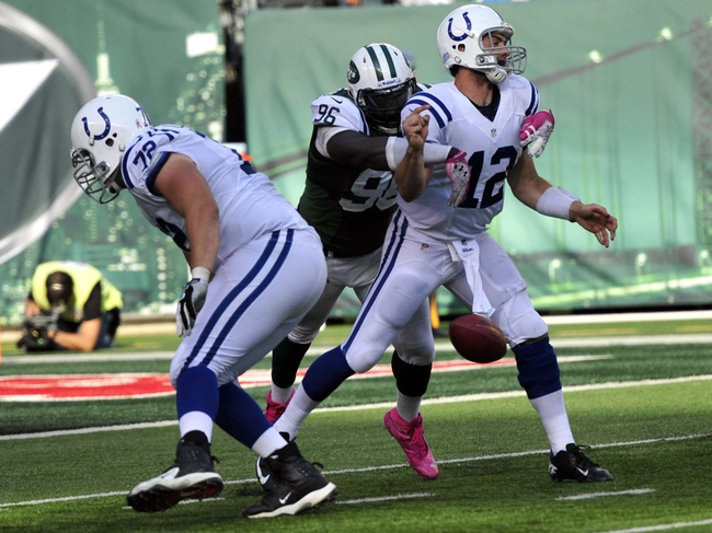 Indianapolis Colts at New York Jets NFL Pick, Odds, Prediction - 8/7/14